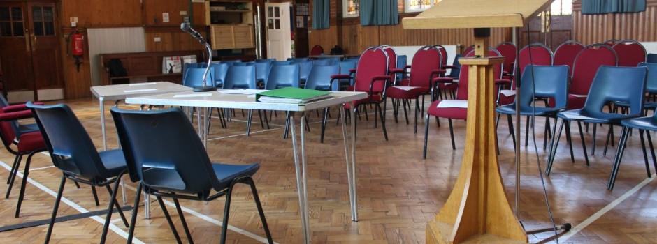 Church Facilities -Hall 001