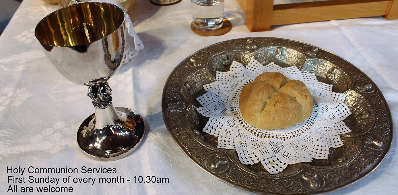 Holy Communion Services – 21 February 2019 – revised 2